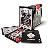 Mazzo BICYCLE Black Tiger Roja (US Playing Card Company)