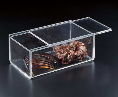 Sliding Lid Catch All Box (Acrylic) (Acrylic Box With Lid compare prices)