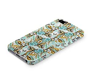 Cover Affair Floral / Flower Printed Back Cover Case for Apple iPhone 5