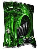 XBOX 360 SLIM SKIN - GREEN ENERGY