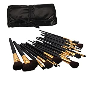 32 Pcs Elegant Professional Beauty Cosmetic Makeup Brush Set Kit With Free Case
