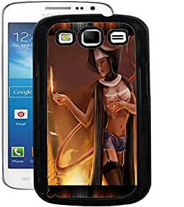 ColourCraft Lovely Lady Design Back Case Cover for SAMSUNG GALAXY S3 I9300 / I9305
