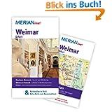 Weimar Erfurt: MERIAN live! - Mit Kartenatlas im Buch und Extra-Karte zum Herausnehmen