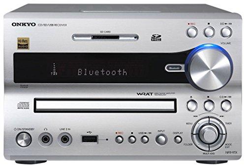 ONKYO CD/SD/USBレシーバー ハイレゾ音源対応 シルバー NFR-9TX(S)