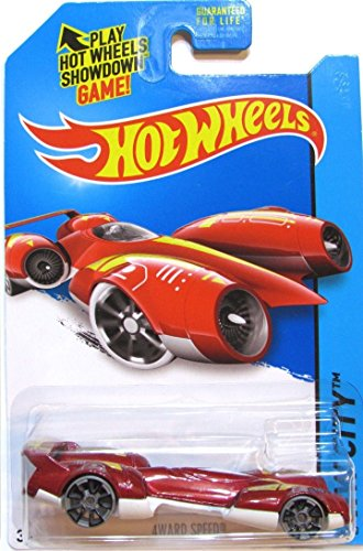 Hot Wheels, 2015 HW City, 4Ward Speed [Red] Die-Cast Vehicle #42/250 - 1
