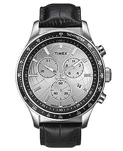 [タイメックス] TIMEX  腕時計 ウォッチ レザーバンド クロノグラフ T2N820 10気圧防水 インディグロナイトライト メンズ