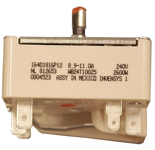 GE WB24T10025 Electric Across Infinite Switch, 8 Inch