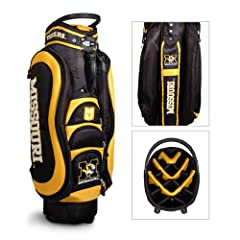 Brand New Missouri Tigers NCAA Cart Bag - 14 way Medalist by Things for You