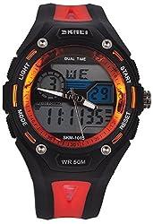 Skmei Calendar Analog - Digital Multi Color Dial Mens Watch - (HMWA05S066C0)