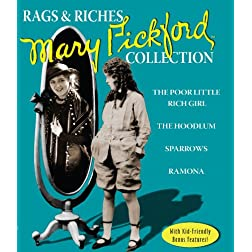 Rags &amp; Riches Collection: The Films of Mary Pickford [Blu-ray]