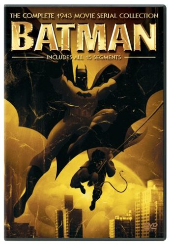 Cover art for  Batman - The Complete 1943 Movie Serial Collection