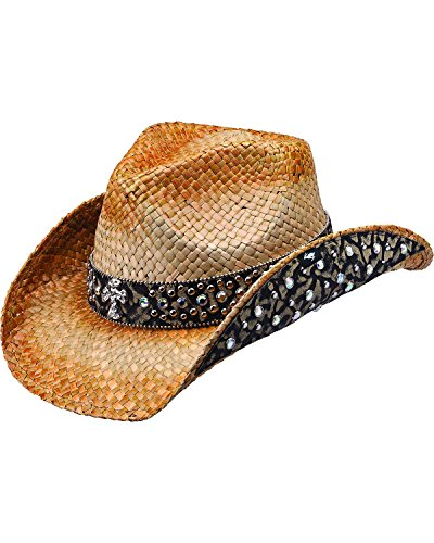 peter-grimm-ltd-womens-weiden-animal-print-embellished-straw-cowgirl-hat-brown-one-size