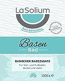 Basenbad-von-LaSolium-1000-g-Basischer-Badezusatz-mit-weier-Mineralerde-Dermatologisch-getestet-Badesalz-fr-basische-Lebensweise-Basenpulver-mit-hochwertiger-Tonerde-aus-Frankreich