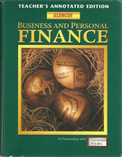 Business and Personal Finance Teacher'S