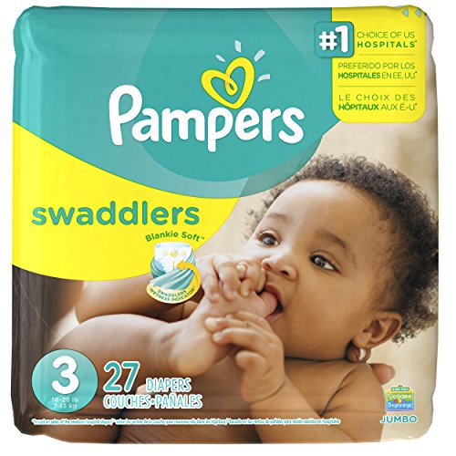 Pampers Swaddlers Diapers - Size 3 - 27 ct - 1