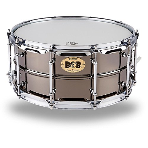 Pork Pie Snare Drum Black Nickle Plated Snare Drum