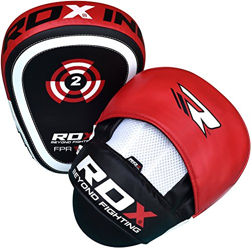RDX-Boxing-Target-Focus-Mitts-Hook-Jab-Punching-Pads-MMA-Thai-Training-Strike-Kick-Shield