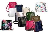Primo Sacchi Italian Leather, Small/Micro Cross Body Bag or Shoulder Bag Handbag. Includes a Protective Dust Bag.