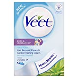 Veet Bikini and Underarm Kit Sensitive Skin Aloe Vera & Vitamin E & 2 X 50ml
