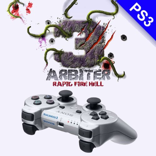 Limited Silver Arbiter 3.5 PS3 Rapid Fire Controller for Black Ops 2 MW3 GOW3 - Silver - ConsolesandGadgets