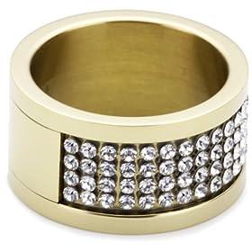 Dyrberg/Kern Dyrberg / Kern - 330966 - Anillo de mujer de acero inoxidable con 80 cristales de swarovski anillo mujer barato woman cheap ring