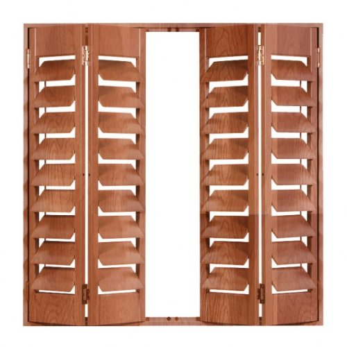 "Louvered Shutters 34"" x 36"""