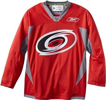 NHL Carolina Hurricanes Practice Jersey, Red by Reebok