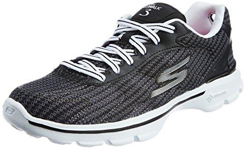 skechers-go-walk-3-fitknit-damen-sneakers-schwarz-bkw-38-eu
