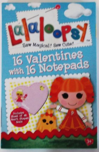 Lalaloopsy Sew Magical! Sew Cute!!! Valentines Day Cards (Box of 32) - 1