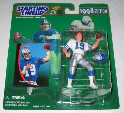1998 Scott Mitchell NFL Starting Lineup