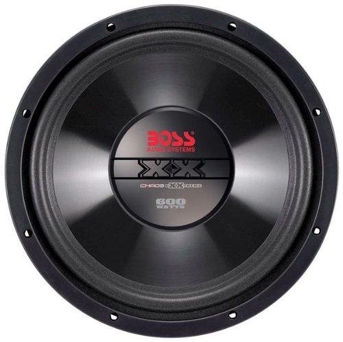 BOSS AUDIO CX10  Chaos Exxtreme 10 inch Single Voice Coil (4 Ohm) 600-watt Subwoofer