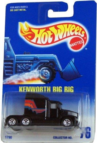 Mattel Hot Wheels 1991 #76 Kenworth Big Rig - 1