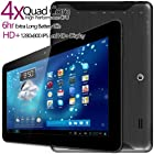 G-Tab Iota Quad Core Android Tablet PC [10.1 Inch IPS, 16GB, Wi-Fi, Bluetooth] (Black)