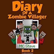 Zombie Talent: Diary of a Minecraft Zombie Villager, Book 2 Audiobook by  MC Steve Narrated by  MC Steve