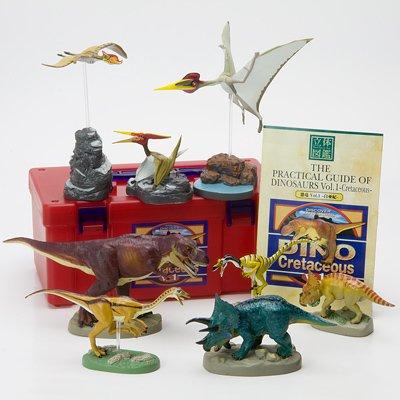 立体図鑑リアルフィギュアボックス ディノ vol.1 (恐竜 白亜紀1)