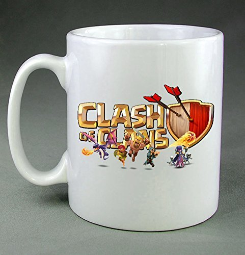 Clash Of Clans Video Game All Characters WN07 Coffee Mug