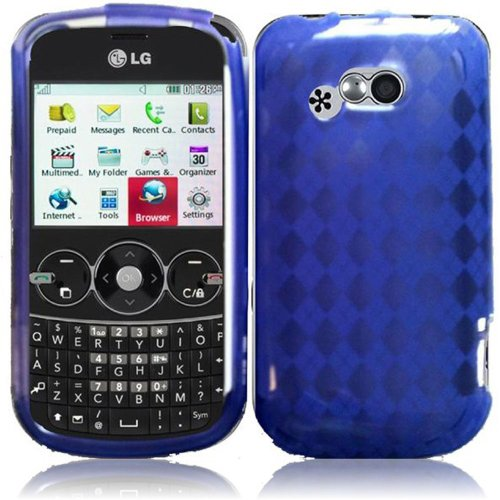 Cell Accessories For Less (Tm) For Lg 900G Tpu Cover Case - Purple - By Thetargetbuys front-707623