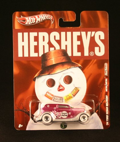 '34 FORD SEDAN DELIVERY * GOOD & PLENTY * Hershey's Hot Wheels 2011 Nostalgia Series 1:64 Scale Die-Cast Vehicle