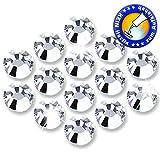 200 Stück DMC Strasssteine - KEIN Hotfix - Crystal
