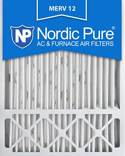 Nordic Pure 20x25x5 Honeywell Replacement AC Furnace Air Filters, MERV 12 (Box of 2) (Furnace Filter Replacement compare prices)