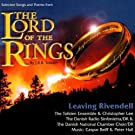 Songs from Lord of the Rings