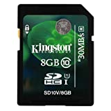 Kingston 8GB SDHC Class 10 Memory Card For Panasonic Lumix DMC-TZ60