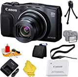 Canon PowerShot SX710 HS Digital Camera (Black) + 6pc Starter Set