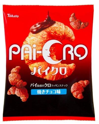 東ハト パイクロ 焼きチョコ味 65g×12袋