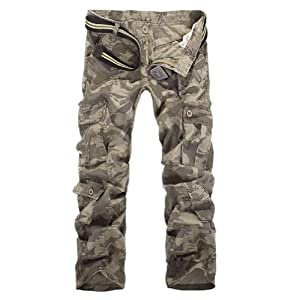 2013 New Style Mens Outdoor Casual Cargo Combat Camouflage Pants Trousers for Man by Jangle Charm