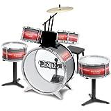 BONTEMPI-JD 4830-instrument de musique-Batterie rock drummer (Âge minimum: 3 ans)
