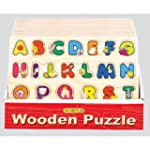 Educational Toys : Wooden Alphabet AB...
