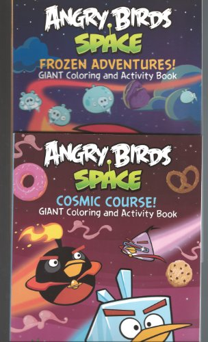 Angry Birds Maze Space Set of 2 (Cosmic Course! & Frozen Adventures!) - 1