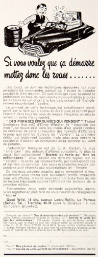 1948-Ad-Good-Wild-Elmer-Wheeler-18-Avenue-Ledru-Rollin-French-Start-up-Business-Original-Print-Ad