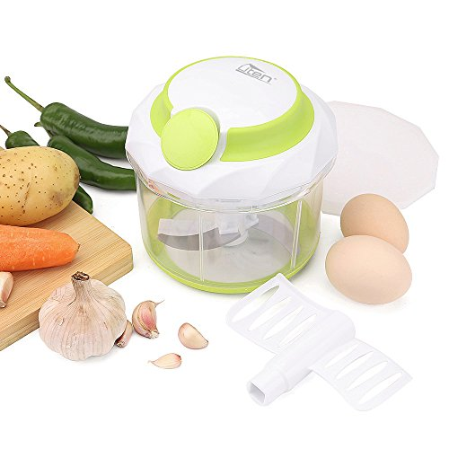 uten-food-chopper-large-1litre-4-cup-capacity-powerful-manual-hand-held-chopper-mincer-mixer-blender